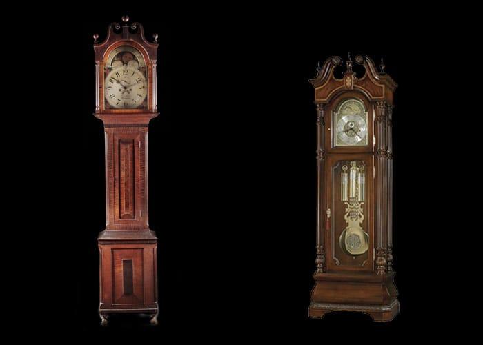 Photos of grandfather clocks
